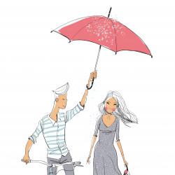 Erfrischungszeit für Paare